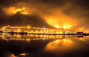 Cape Peninsula Fire